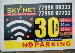 Vinyl No Parking Board Printing Services, in Pan India