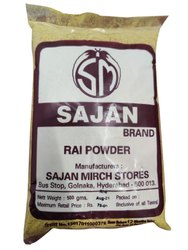 Sajan 500gm Rai Powder, Packaging Type: Packet