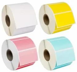 Paper Colored Barcode Stickers, Packaging Type: Roll