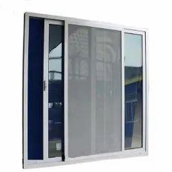 Brown (frame) Upvc Insect Aluminium Window