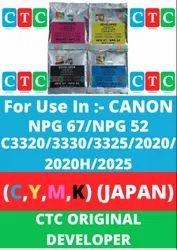 CTC Canon IR Developer C,Y,M,K