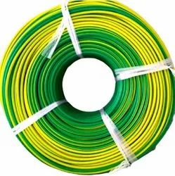 Stranded Number Of Cores: Single Flame Retardant PVC Insulated Industrial Copper Wire, Size: 4sqmm