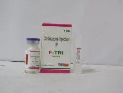 INJ. F-TRI (Ceftriaxone 1gm)