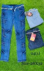 Slim Ladies Stretchable Jeans