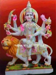 Marble Maa Durga Ji Statue