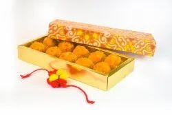 Rectangular Multicolor(CMYK) DUPLEX BOARD LADDU PACKING BOX, Weight Holding Capacity (kg): <2 Kg