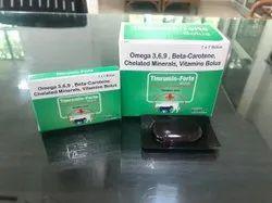 Omega 3,6,9, Beta-Carotene, Chelated Minerals, Vitamins Bolus