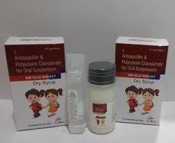 Amoxicillin 400mg + Clavulanic Acid 57mg Dry Syrup