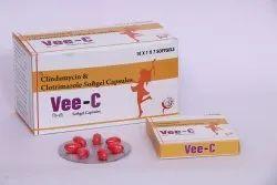 Vee C Clindamycin and Clotrimazole Capsule