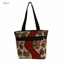 Shoulder Bag Kalamkari Handbags - Handicraft