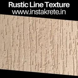 Instakrete Rustic Line Wall Texture