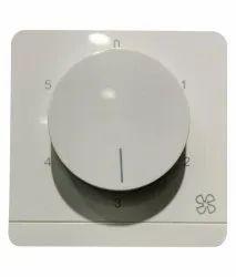 White PVC Ceiling Fan Regulator
