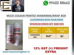 Shawarma Wrap Box