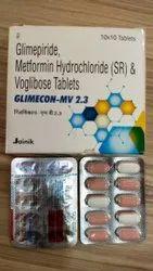Glimepiride Metformin Hydrochloride (SR) Tablet