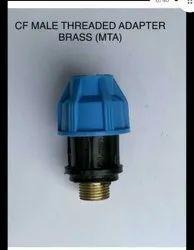 MDPE Brass Mta 20mm