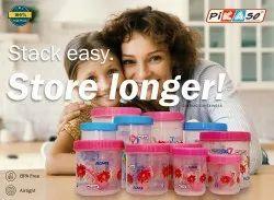 Storage Plastic Jar