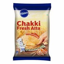 Pillsbury Chakki Fresh Atta Made From Finest Quality Of Wheat Grains, Packaging Type: Bag