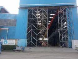 White Mild Steel Aircraft Hangar Construction Service