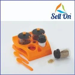 4 In 1 Spice And Dry Fruit Storage Container