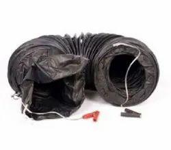 Nylon Ventilation Tubes for Explosion Proof Ventilation Fan 200mm x 5 Meters
