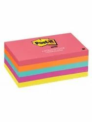 3M Post-it Notes, 3 in x 5 in, Cape Town Collection, 5 Pads/Pack