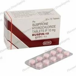 Buspin 10 Mg Tablets