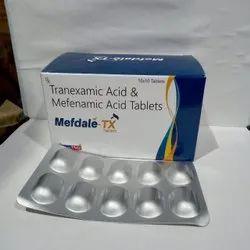 Mefenamic Acid And Tranexamic Acid Tablets In Alu