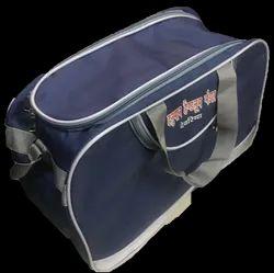 Blue Polyester Luggage Air Bag