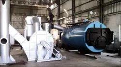 Briquette Fired 1500 kg/hr Steam Boiler