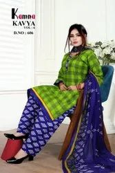 Kamna Cotton Ladies Readymade Suit