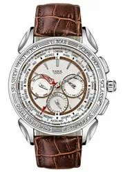 Yazole White Imported Luxury Chronograph Watch For Men