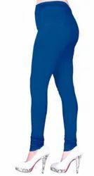 Mid Waist Cotton Stretchable 4 Way V Cut Legging-VFM1016, Casual Wear, Slim Fit