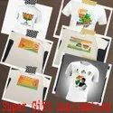 Sublimation Polyester Election T Shirt