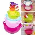 Measuring Spoon and Cup Set Multi Purpose Kitchen Tool - 8 Cups
