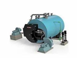 Husk Fired 2-5 TPH Industrial Boiler IBR Approved