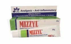 Methyl Salicylate Ointment 0.1% w/w (MIZZYL)