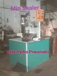 Pneumatic Tarpaulin Two In One Sealing Machine