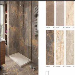 Multicolor Digital Printing Bathroom floor tiles, 60 * 120 cm, Glossy