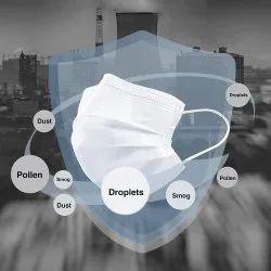 层数:3层白色外科口罩