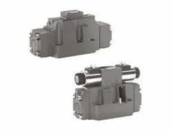 Directional Spool Valves, Pilot Operated With Solenoid Actuation