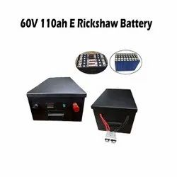 Daxpowerwall Mileage: 125 KM Lithium Ferro Phosphate Battery For E Rickshaw, Model Name/Number: DAXER60V, Capacity: 110AH