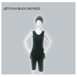 Black One Piece Swimsuit