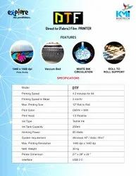 1440*1440 Polished DTF, For Fabric And Garments Printing, 230