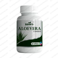 Ssure Aloevera Capsule SS Entrepreneurs For Digestion Improve