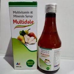 Multidale (Multivitamin Minerals Syrup)