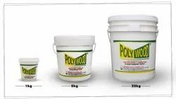 Polywood White Adhesive for PVC Sheets Pasting on Wooden Board