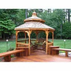 Wooden Garden Gazebo