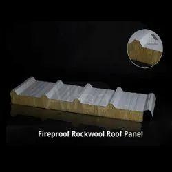 50mm Fireproof Rockwool Roof Panel