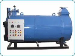 Oil & Gas Fired 10-500 Mcal/hr Three Pass Coil Type Packaged Hot Water Boiler