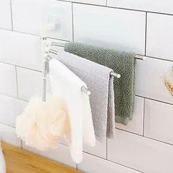 Wall 4 Bars Stainless Steel Towel Rack